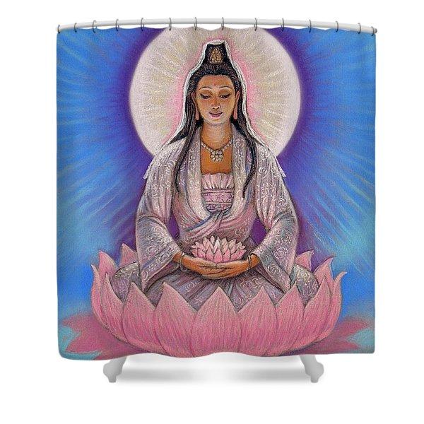 Kuan Yin Shower Curtain