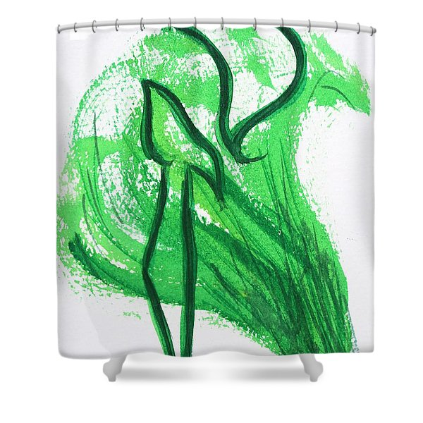 Kuf In The Reeds Shower Curtain