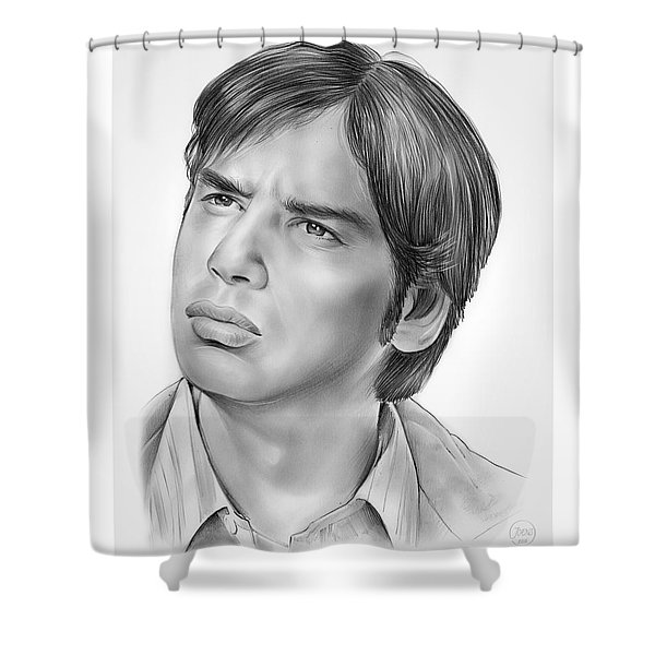Kunal Nayyar Shower Curtain