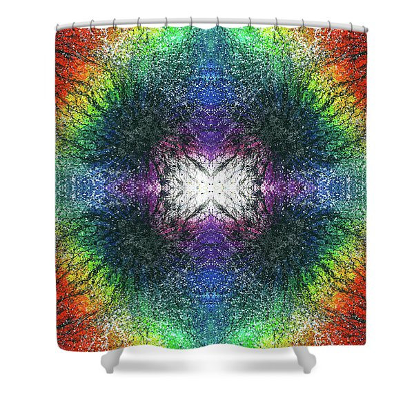 Kundalini Awakening #1551 Shower Curtain