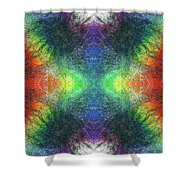 Kundalini Awakening #1552 Shower Curtain