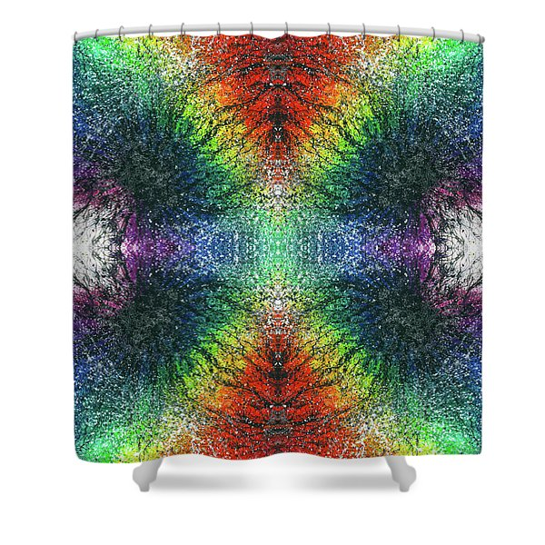 Kundalini Awakening #1553 Shower Curtain