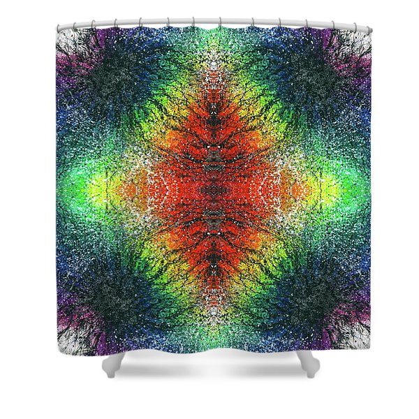 Kundalini Awakening #1554 Shower Curtain