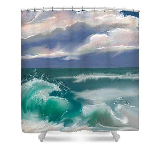 Kure Beach Shower Curtain