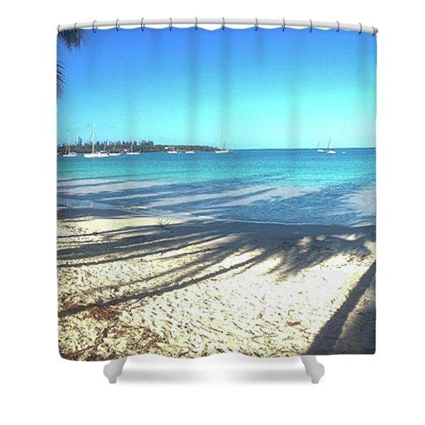 Kuto Bay Morning Shower Curtain