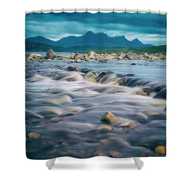 Kyle Of Tongue II Shower Curtain