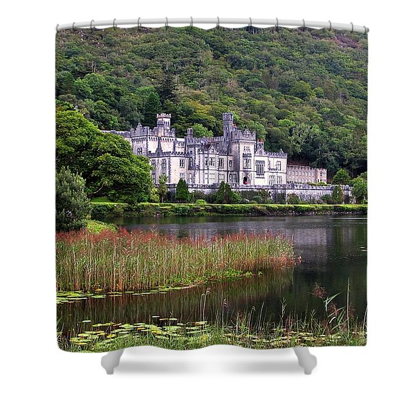 Kylemore Abbey, County Galway, Shower Curtain
