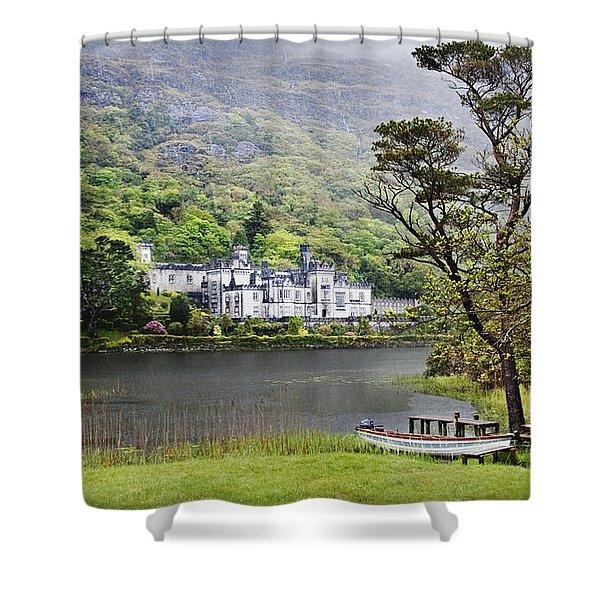 Kylemore Castle Shower Curtain
