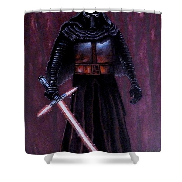 Kylo In Red Shower Curtain