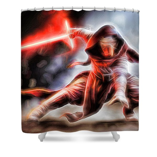 Kylo Ren I Will Fulfill Our Destiny Shower Curtain