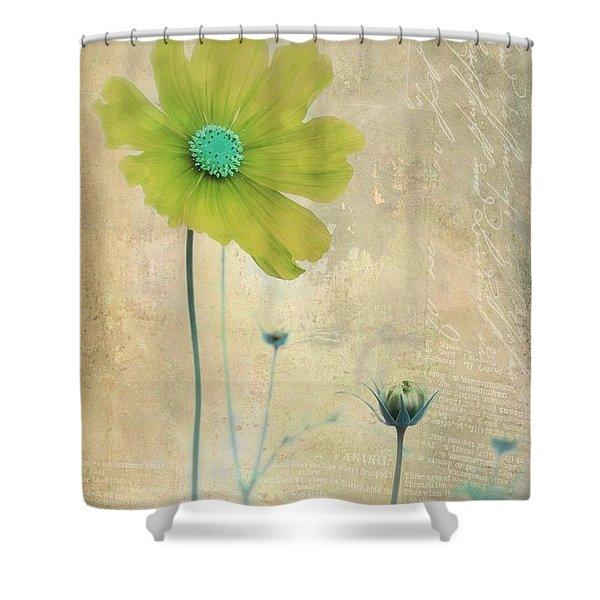 L Elancee - V11t3 Shower Curtain