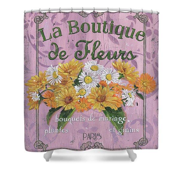 La Botanique 1 Shower Curtain