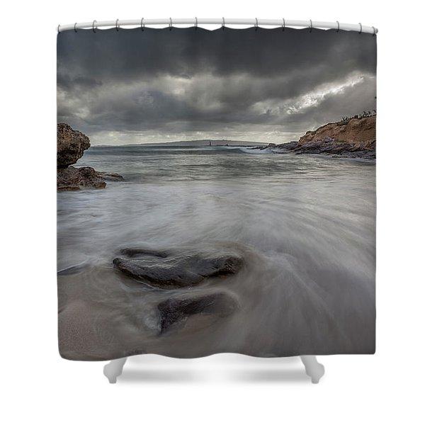 La Caletta  Shower Curtain