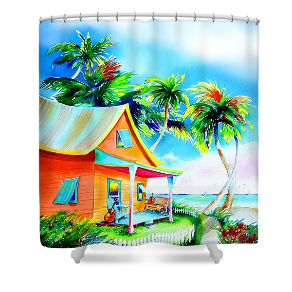 La Casa Cayo Hueso Shower Curtain