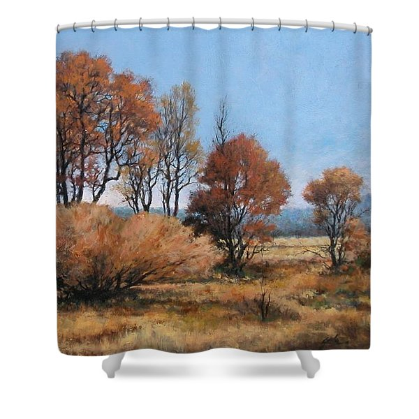 La Center Bottoms Shower Curtain