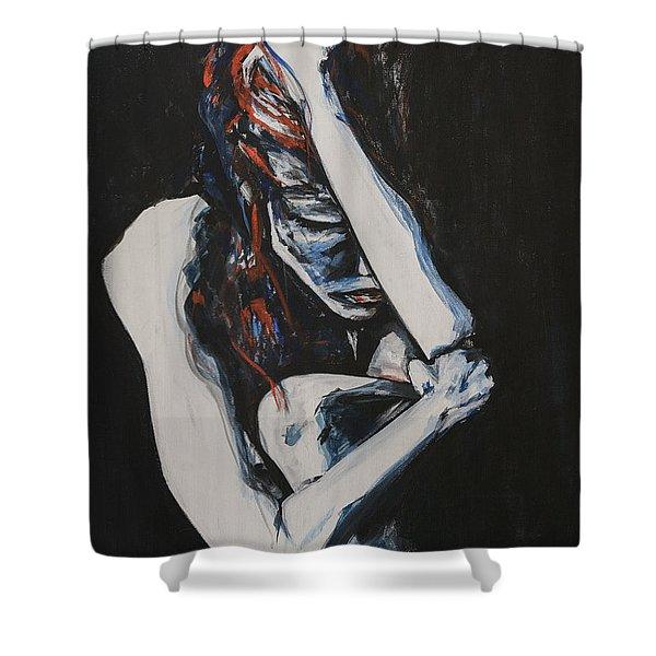 La Coupure Shower Curtain