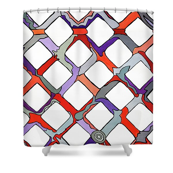 La Day Shower Curtain