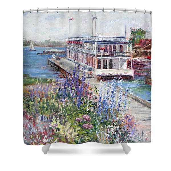 Shower Curtain featuring the painting La Duchesse by Jan Byington