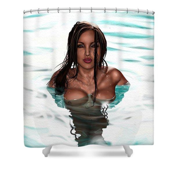 La Llorona Shower Curtain