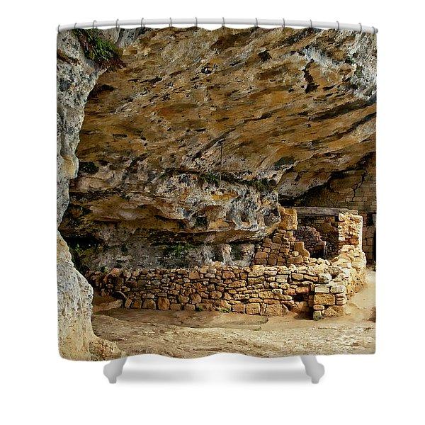 La Madeleine Ruins Shower Curtain