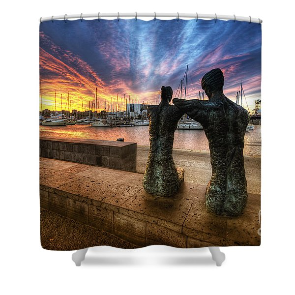 La Parella Shower Curtain