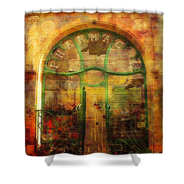 La Pharmacie 2016 Shower Curtain