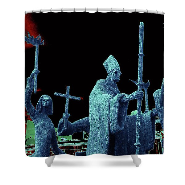 La Rogativa 2106 Shower Curtain