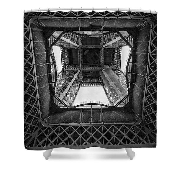 La Tour Eiffel Shower Curtain