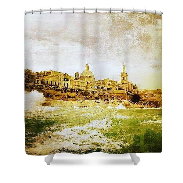 La Valletta Shower Curtain