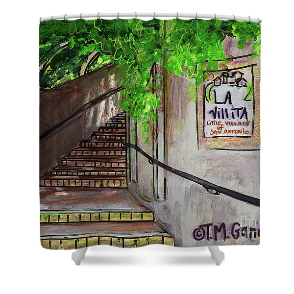 La Villita Shower Curtain