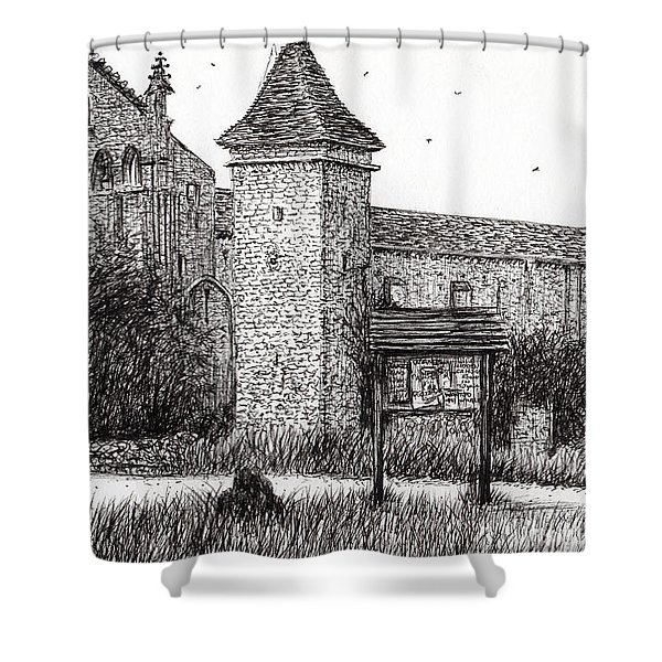 L'abbeye Blassimon Shower Curtain