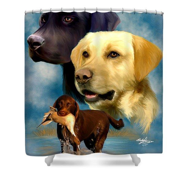 Labrador Retrievers Shower Curtain