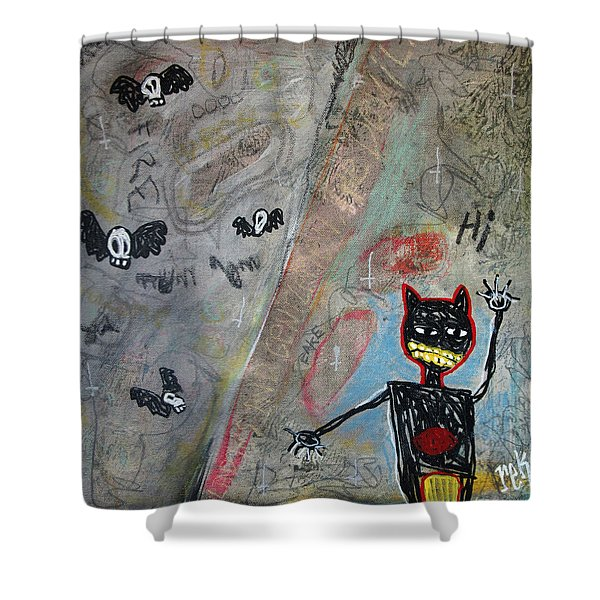 Ladies And Gentlement, The Devil Shower Curtain