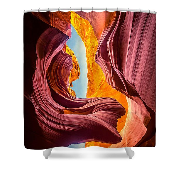 Lady Of The Wind Shower Curtain