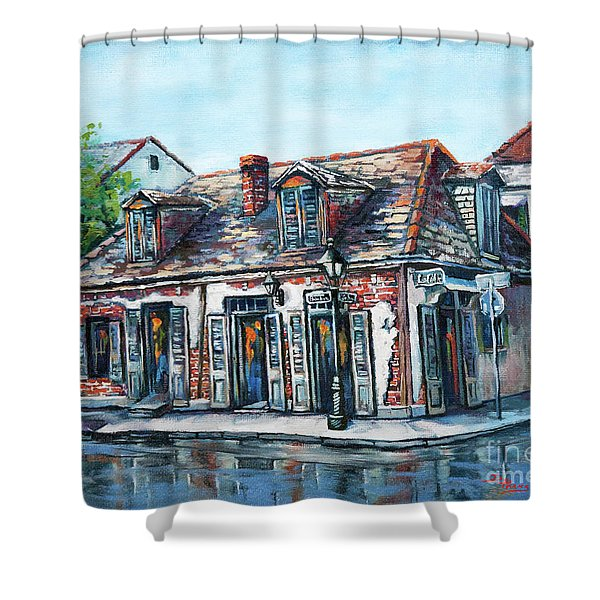 Lafitte's Blacksmith Shop Shower Curtain