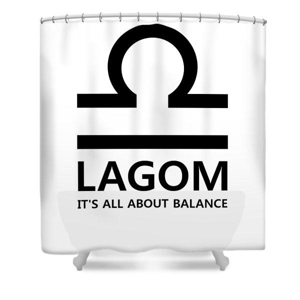 Lagom - Balance Shower Curtain