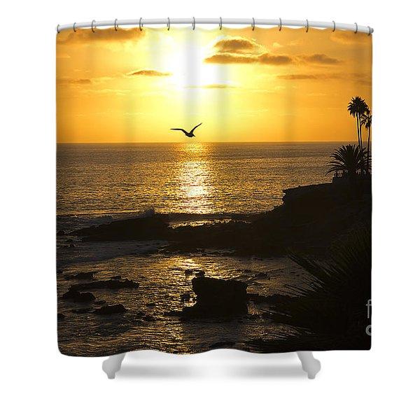Laguna Sunset Shower Curtain