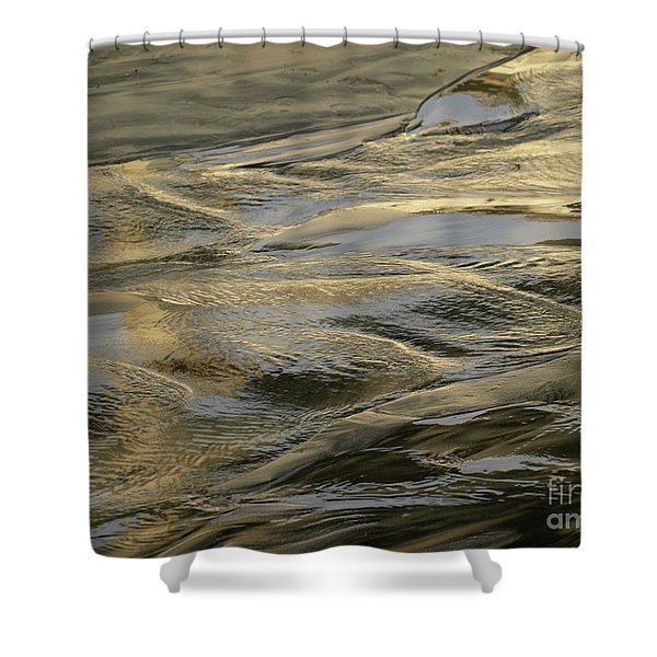 Lajollagold Shower Curtain
