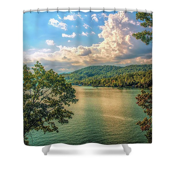 Lake Burton Shower Curtain