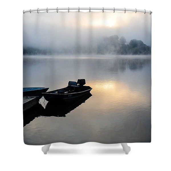 Lake Calm Shower Curtain