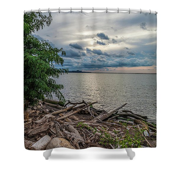 Lake Erie Serenade Shower Curtain