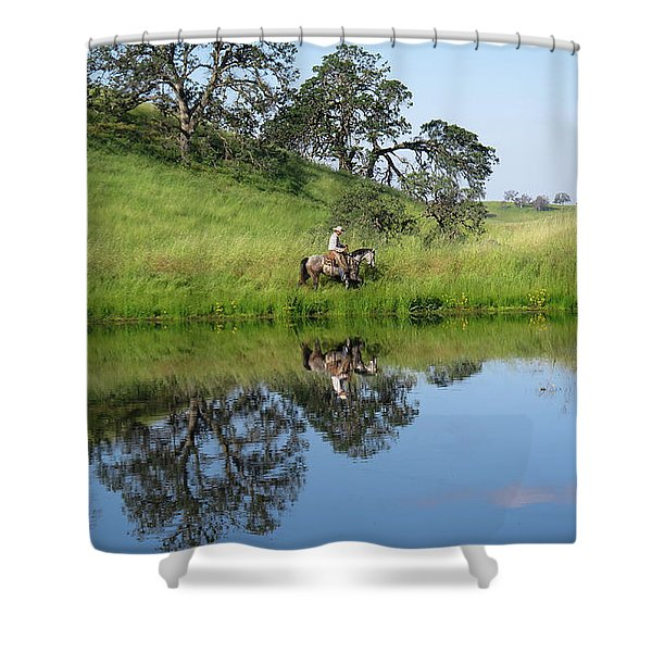Lake Front Property Shower Curtain