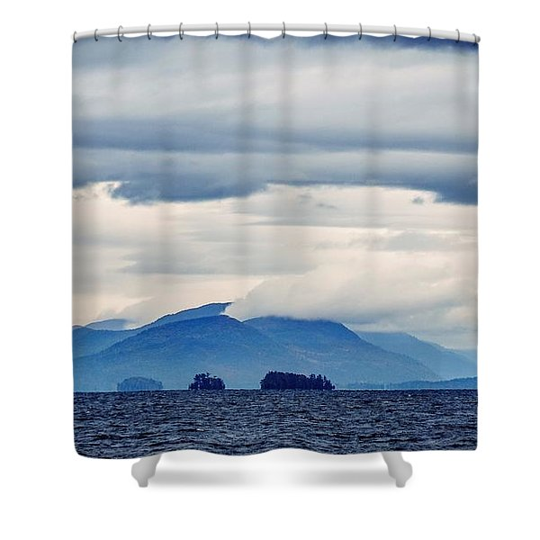 Lake George Is The Queen Of American Lakes Shower Curtain