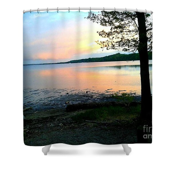 Lake In Virginia Shower Curtain