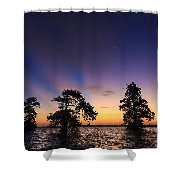 Lake Istokpoga Sunrise Shower Curtain
