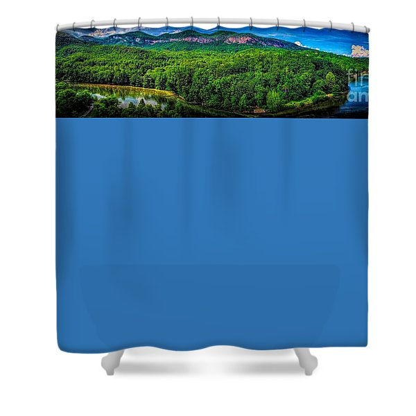 Lake Lure Shower Curtain