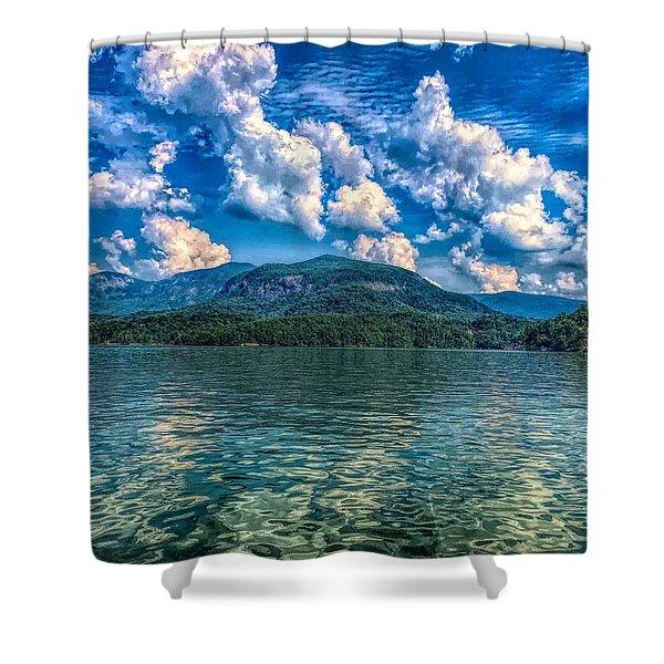 Lake Lure Beauty Shower Curtain