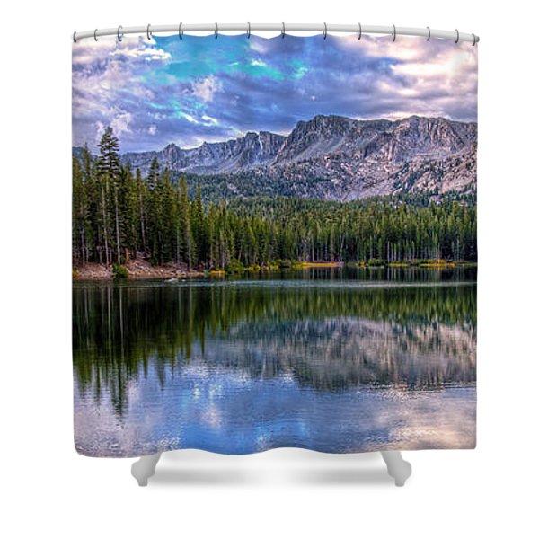Lake Mamie Panorama Shower Curtain