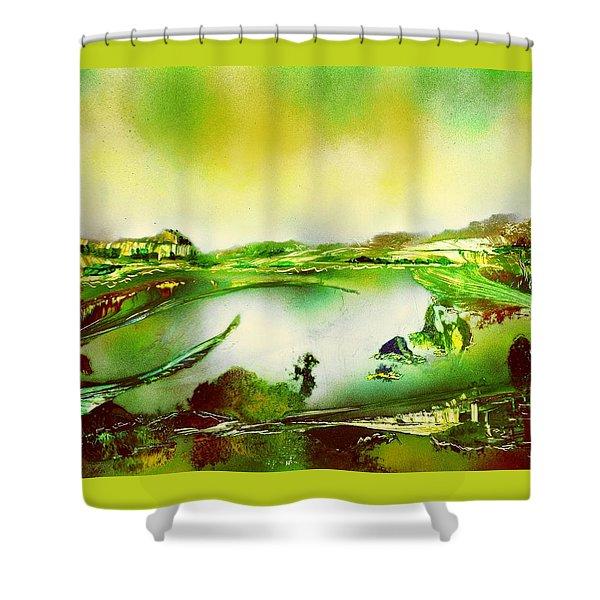 Lake Of Spirits Shower Curtain