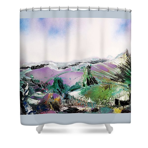 Lake Of The Dawn Shower Curtain